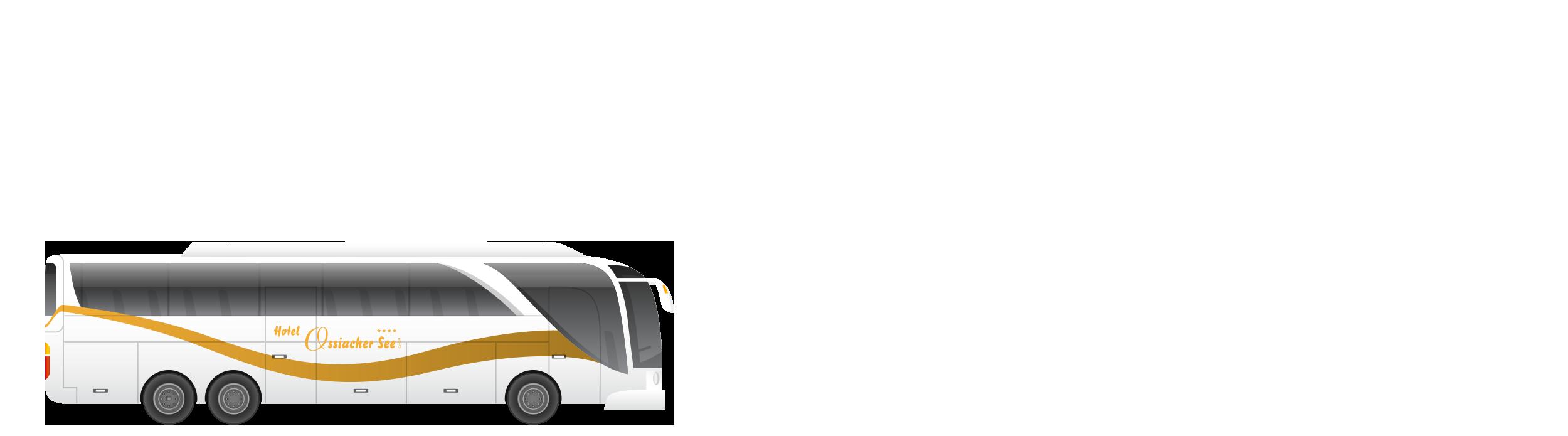 Hotel Ossiachersee Busgruppen mit Logo